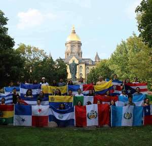 Nd Students With Flags 2